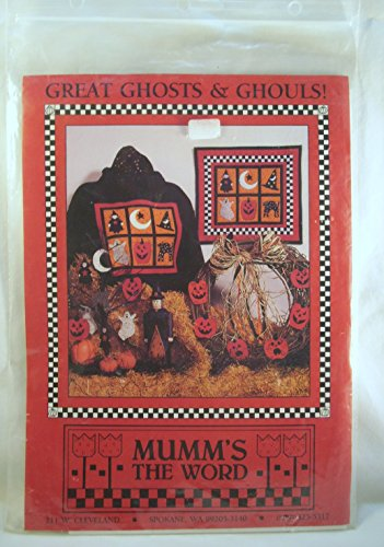 Great Ghosts & Ghouls! (craft pattern) (Mumm's The Word) ()