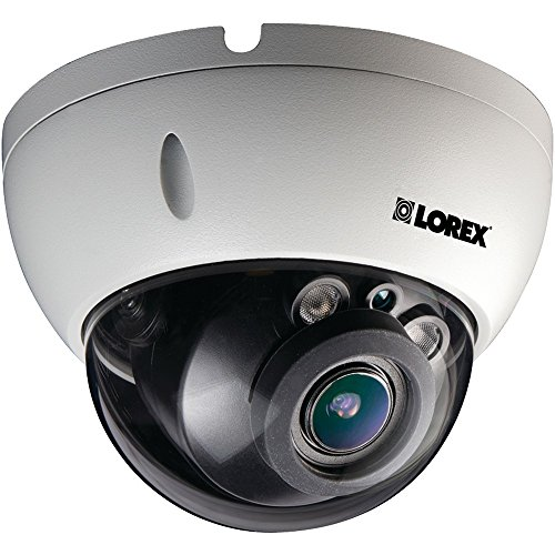 (LOREX LND3374SB 3.0-Megapixel Varifocal HD IP PoE Dome Camera, White)