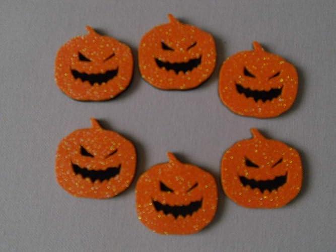 6 Calabazas maleficas para decorar en halloween de goma eva ...