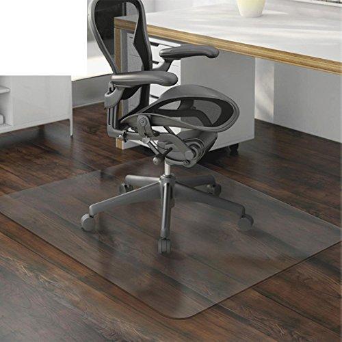 - OSJCYASBZ PVC Transparent mat Computer Chair mat Swivel Chair Protector Floor mats Wood Floor Protector Carpet Transparent mat-A 40x60cm(16x24inch)
