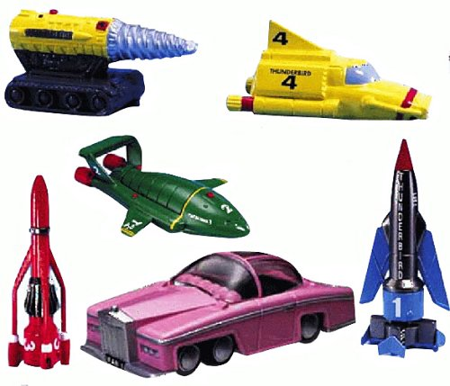 THUNDERBIRDS 6 Vehicle Super Set ()