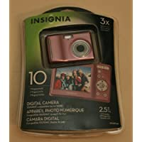 Insignia NS-DSC10A 10.0 MP Digital Camera - Pink Overview Review Image