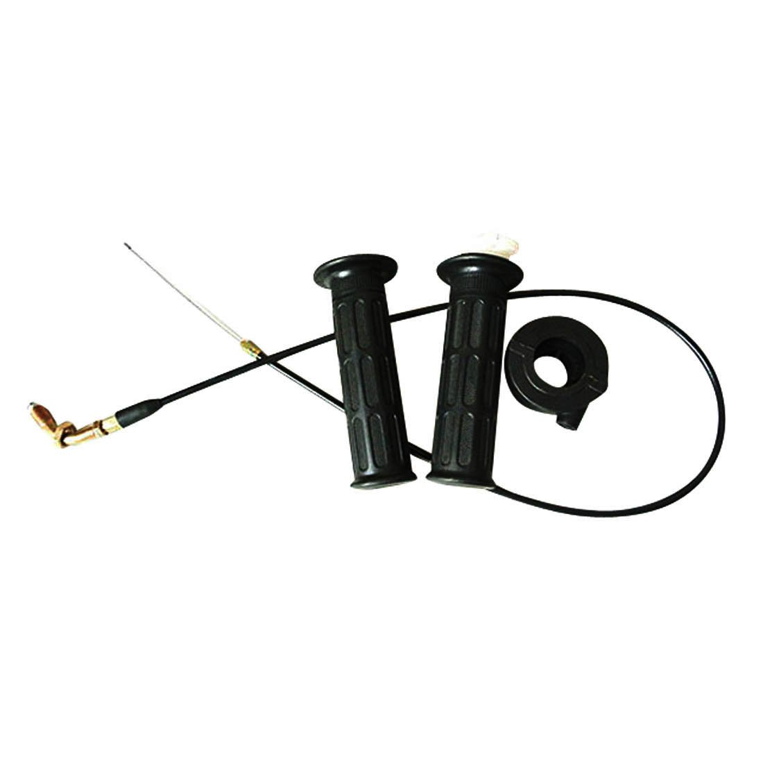 JRL Cable Throttle Accelerator Grip/ Twist Fit 50cc 90cc 110cc 125cc 140cc Pit Dirt Bike Huang Machinery
