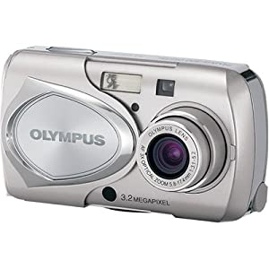 Olympus Stylus 300 3.2 MP Digital Camera with 3x Optical Zoom