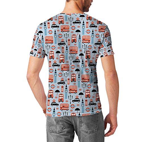 London Baby! Mens Sport Mesh T-Shirt Herren XS - 3XL