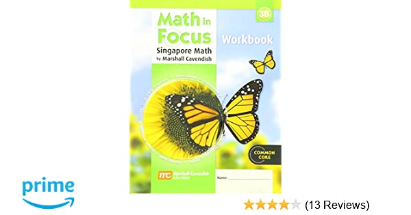 Math in Focus: The Singapore Approach Student Workbook