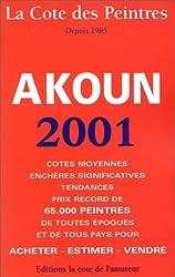 La cote des peintres : Edition 2001
