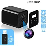 Hidden Camera - JAKIELAX Spy Camera Adapter- 1080P HD USB Charger Camera with Motion Detection and Loop Recording Free Flash Transfer Stick for Protection of Your Home and Office