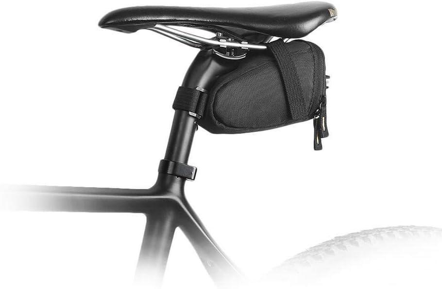 Bicicleta Sill/ín Bolsa Bolsa de bicicleta P/óspula impermeable Sillero de almacenamiento Bolsa de ciclismo Bolsa trasera MTB Bike Bike Tubo interior Herramientas de tubo Estuche bolsa bicicleta sillin