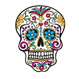 Twelve 2 Day of the Dead Skull Cupcake Image Topper by Kopykake