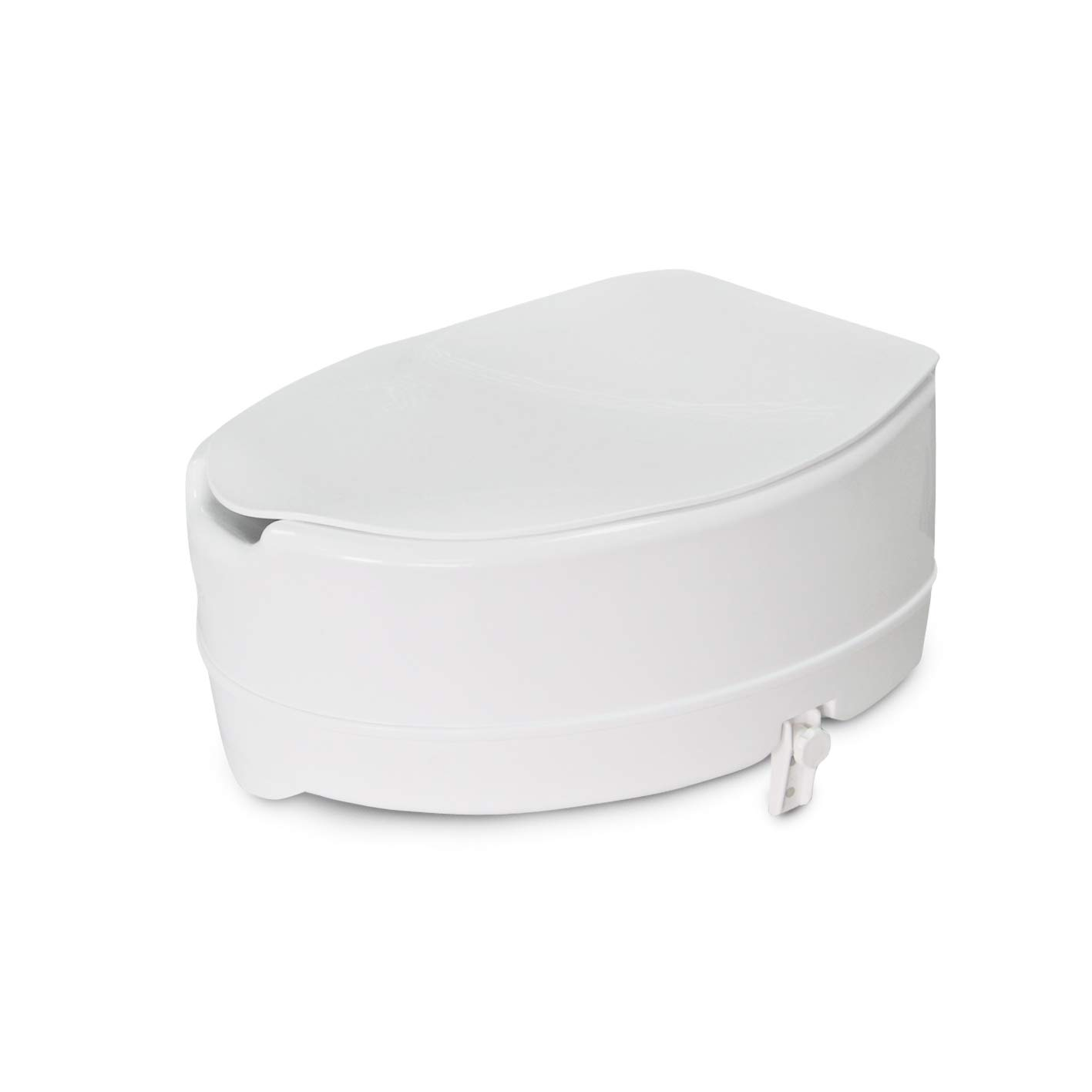 Raised Toilet Seat, White by UpAct