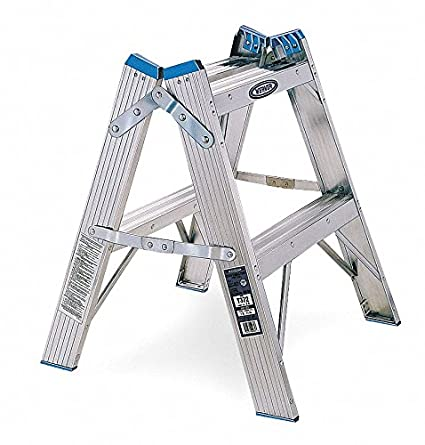 Awesome Amazon Com Aluminum Step Stand 24 Overall Height 300 Lb Creativecarmelina Interior Chair Design Creativecarmelinacom