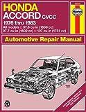 Honda Accord CVCC '76'83 (Haynes Repair Manuals)