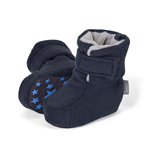 Sterntaler Baby Jungen Schuh Krabbelschuhe, Blau (Marine 300), 20 EU