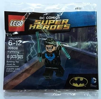 Lego super heroes nightwing minifigure