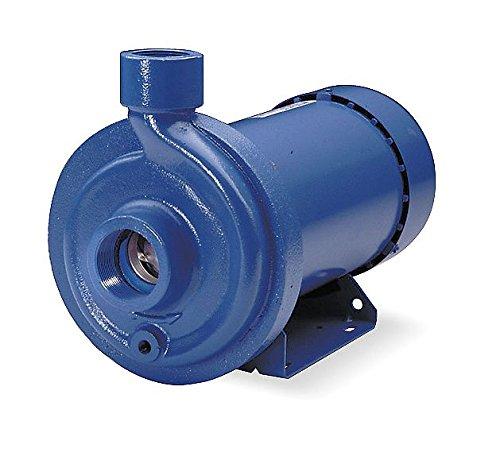GOULDS PUMPS 2MC1E5E0 Cast Iron Centrifugal Pump, 3 Phase, 208 VAC-230 VAC/460 VAC ()