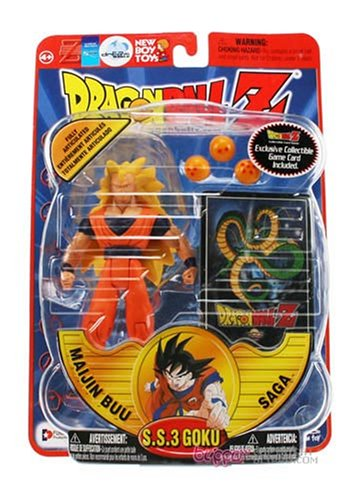 DragonBall Z DBZ S.S. Super Saiyan 3 GOKU 6″ Poseable Action Figure toy = ETREMELY RARE!