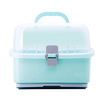 1X Baby Kids Feeding Milk Bottle Dryer Drainer Cup Drying Rack Storage Holder FI