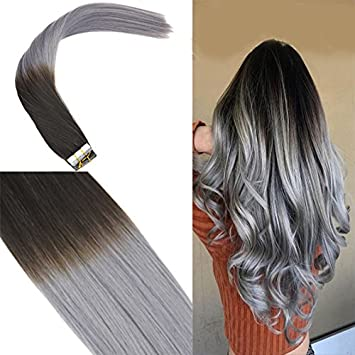 Youngsee 18 Inches Ombre Tape Hair Extensions