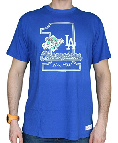 Mitchell & Ness Los Angeles Dodgers MLB 1988 World Series Premium Men's T-Shirt