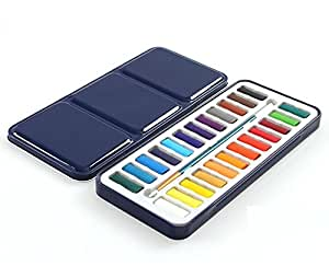 as 24 watercolor paint set for kids adults