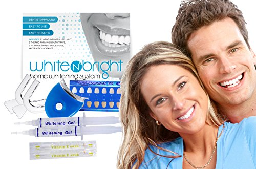 White N' Bright – Premium Teeth Whitening Kit – See results after just one use! Professional Grade Teeth Whitening System – DDS RECOMMENDED!