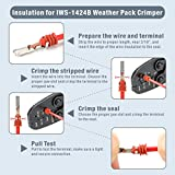 IWISS Weather Pack Sealed Connector Crimping Tool
