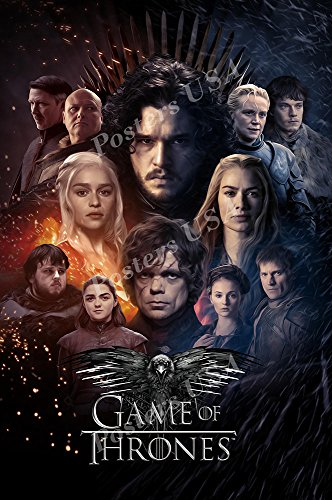 Posters USA Game of Thrones TV Show Series Poster GLOSSY FINISH - FIL733 (24