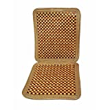 Zone Tech Natural Beaded Seat Cushion