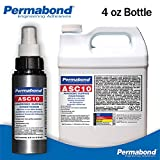 Permabond ASC 10 Anaerobic Surface Conditioner & Accelerator for Instant CA Adhesives-4oz Spray Bottle