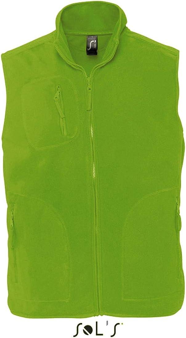 Farbe:Lime Gr/ö/ße:XL SOL/´S Fleeceweste Norway