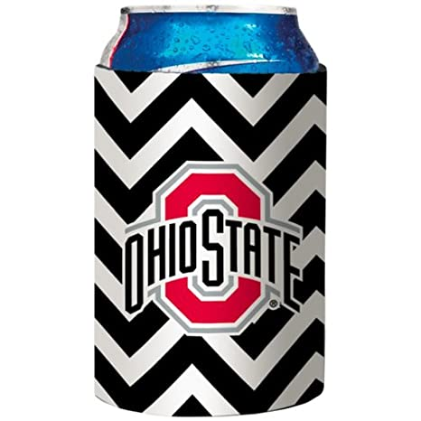 One Size,Gray Victory Postcards NCAA Ohio State Buckeyes Aztec Design Neoprene Can Coolie