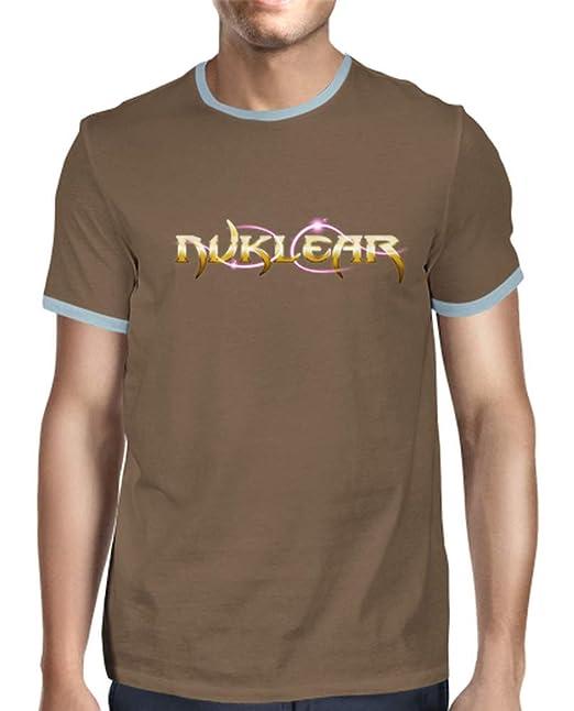 latostadora - Camiseta Retro Chico - Logo para Hombre Chocolate S