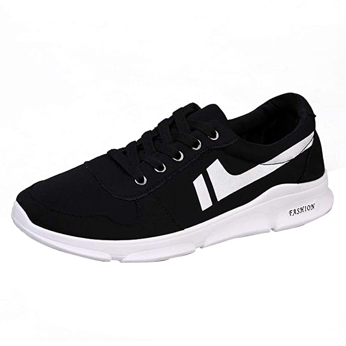 GongzhuMM Chaussures de Sports Homme Sneakers Basse Chaussures de Course  Baskets Chaussures de Sécurité Chaussures de Travail Noir Orange 39-42.5  EU  ... 04078508777f