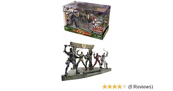 GI Joe: Ninja Battles - Action Figures & Comic & DVD