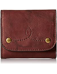 Campus Rivet Medium Snap Leather Wallet