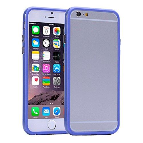 Phone Taschen & Schalen Für iPhone 6 Plus & 6S Plus, reine Farbe Kunststoff + TPU Stoßfänger Fall Fall ( SKU : S-IP6P-0031D )