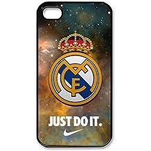 Real Madrid Logo Starry Sky iPhone 4 4S Unique Design Unique Gift Cover Case