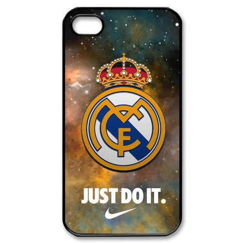 Real Madrid Logo Starry Sky iPhone 4 4S Unique Design Unique Gift Cover Case