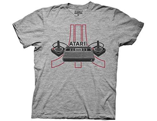 Ripple Junction Atari 2600 Adult T-Shirt 3XL Multicoloured
