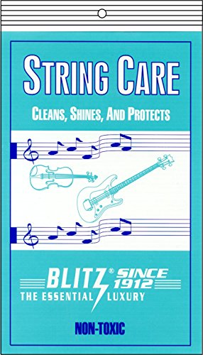 Blitz Music Care 301 String Care with 2 Cloths