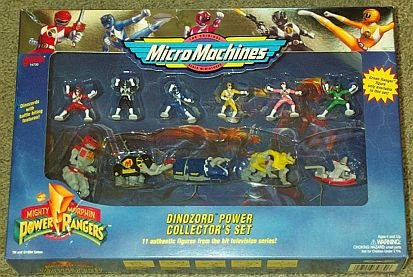 - Power Rangers Dinozord Collector's Set Micro Machines