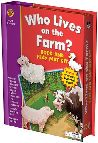 Download Who Lives on the Farm? (Book & Play Mat Kits) pdf epub