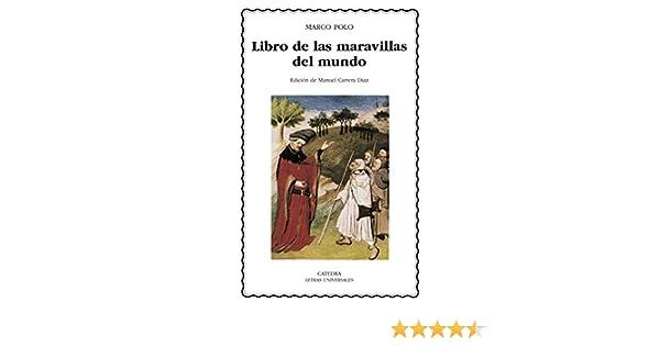 Libro de las maravillas del mundo (Letras Universales nº 400 ...