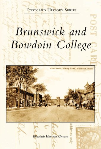 Brunswick And Bowdoin College, ME (PHS) (Postcard History)