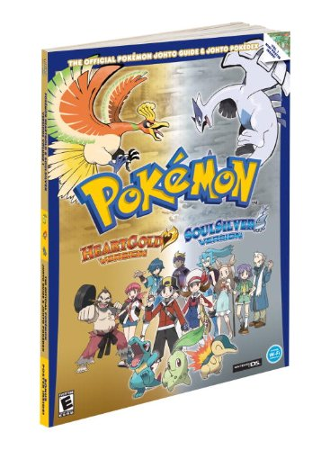 - Pokemon HeartGold & SoulSilver: The Official Pokemon Johto Guide & Johto Pokedex: Official Strategy Guide (Prima Official Game Guide)
