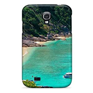 New Galaxy S4 Case Cover Casing(lovely Beach)