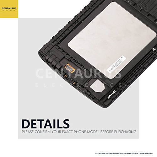 Full For LG G pad F 8.0 V496 V495 UK495 LCD Display Touch Digitizer Screen + Frame USA Black by CE CENTAURUS ELECTRONICS (Image #7)