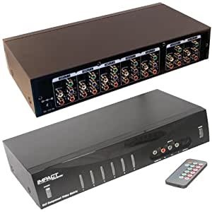 C2G / Cables To Go 40697 6x2 Component Video + Stereo Audio + TOSLINK  Digital Audio Matrix Selector Switch