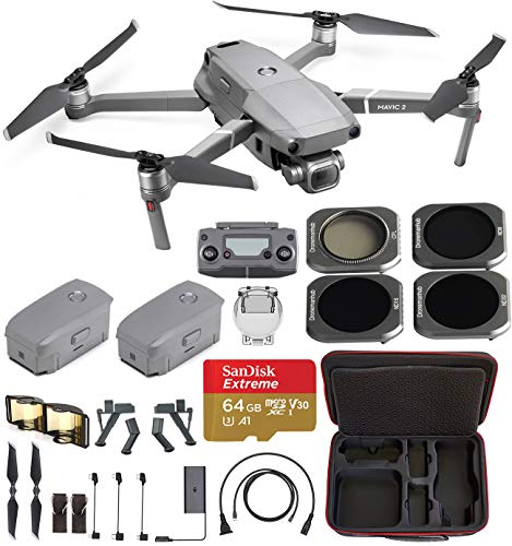 (DJI Mavic 2 Pro with Hard Professional Case and ND Filters (2Batteries))